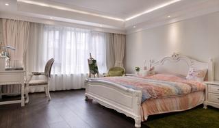 浪漫优雅美式卧室效果图
