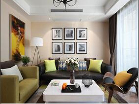 简美式公寓有特色  我喜欢的家就是这样