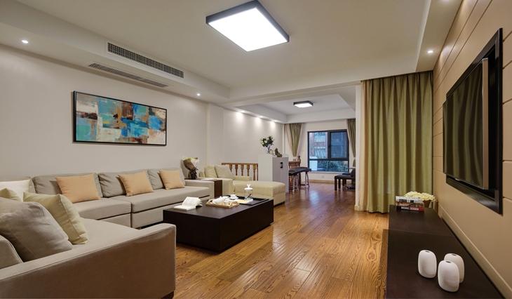 简约风格公寓装修客厅组合沙发图片