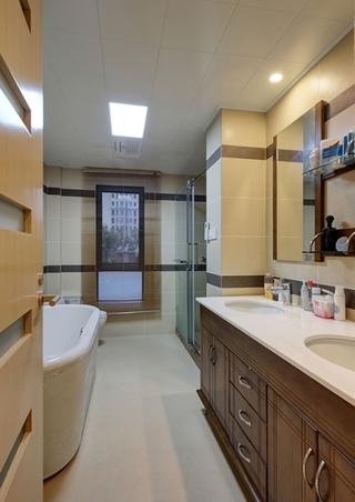 简约风格公寓装修卫生间装潢装修