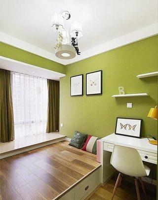 卧室地台装修装饰效果图
