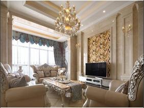 奢华欧式别墅  大空间就是大气