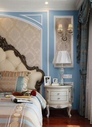 欧式风格装修主卧室装饰设计