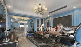 欧式风格装修客厅沙发图片