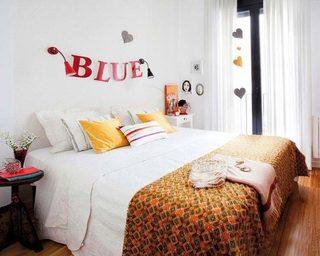 50平米创意一居室卧室构造图