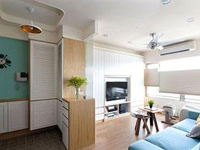 80平北欧风格三室两厅装修 清新日光宅