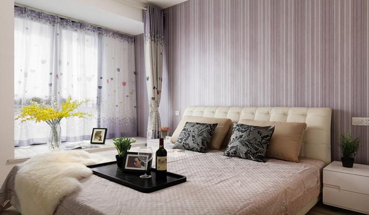 咖啡色的甜蜜空间 最爱简约风格装修卧室设计