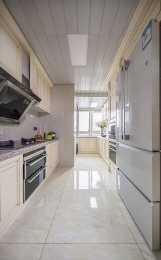 清新简洁欧式 大户型厨房设计