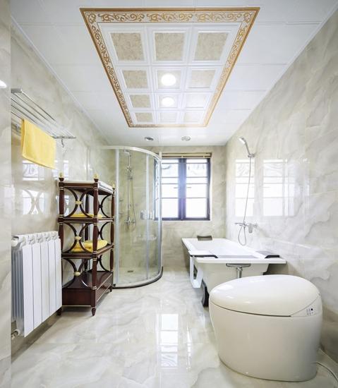 富裕型装修 很有魅力的简欧风格装修卫生间装修