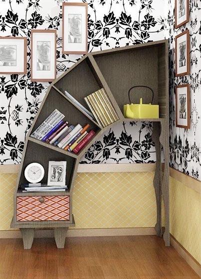 创意书架设计装修装饰图片