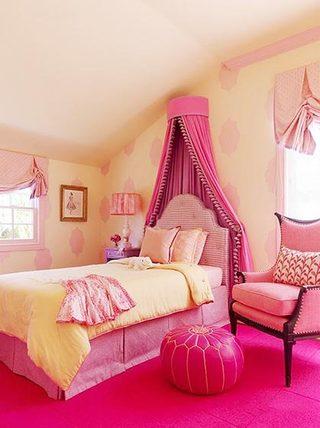 梦幻公主房布置设计图片