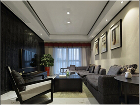 时尚现代新中式 三居室美宅欣赏
