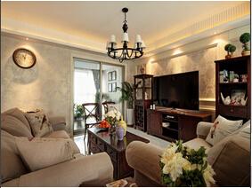 将异域情调带回家 温馨舒适的美式风格三居室