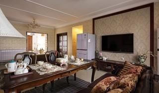 东南亚风格装修 让家更有味道客厅效果图