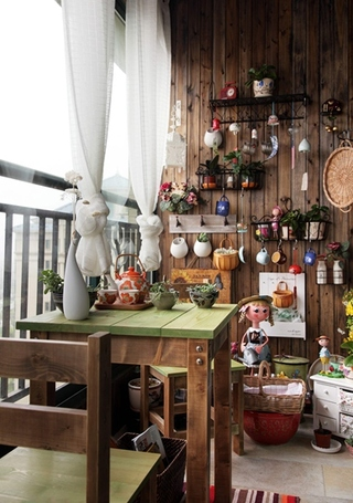 东南亚风格装修 让家更有味道阳台设计