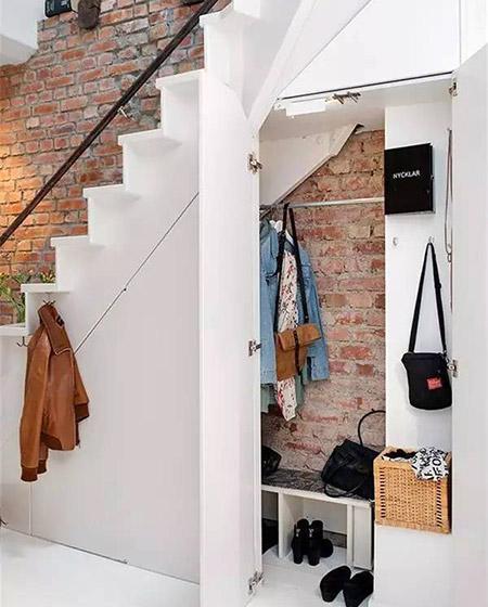 楼梯下壁橱衣帽间设计图