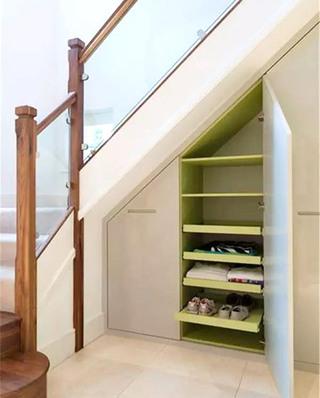楼梯下收纳柜效果图大全