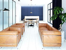 极简风格公寓装修效果图 简洁而不简单
