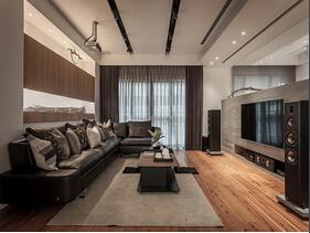 钢筋森林里的舒适小木屋  自然环保的三居室设计