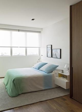 落地窗我喜欢 最具敞亮感简约风格装修小卧室设计