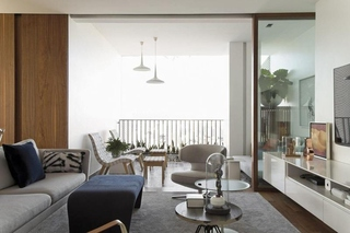 落地窗我喜欢 最具敞亮感简约风格装修小清新客厅设计