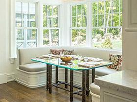 10个飘窗餐厅装修效果图 舒适餐厅新方案