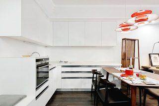 厨房吧台布置构造图