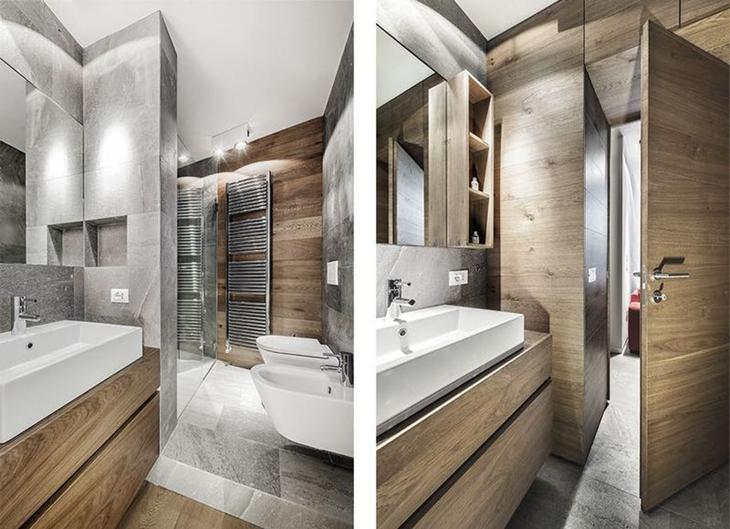 多功能家居设计 简约风格美家装修卫生间效果图