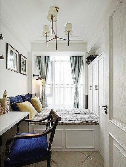 卧室地台设计实景图