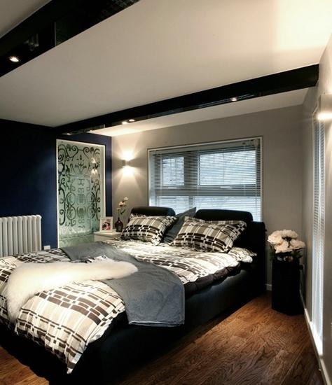 简约现代风低层卧室效果图