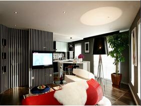 时尚小户型装修  帅哥的质感小公寓设计