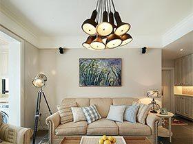吊灯是公寓的主角  这套三居室的点睛之笔很惊艳
