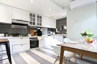 90平北欧三居厨房橱柜设计图