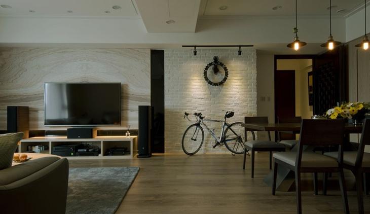 简约风格装修其实很美客厅效果图