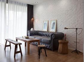 原木风简约风格装修 让你的家个性有韵味