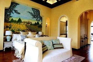 古典地中海风情卧室效果图