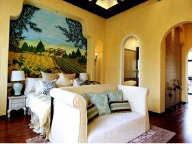 地中海风格装修 舒适清新的空间