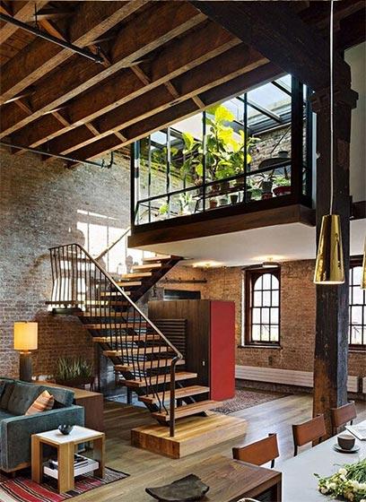 loft公寓设计实景图
