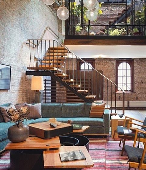 loft公寓摆放参考图片