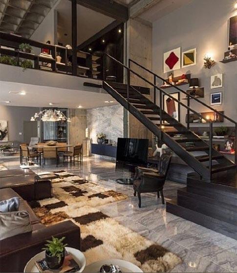 loft公寓装修欣赏图片