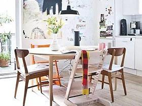 10个餐厅木质餐桌效果图 开启温馨节日季