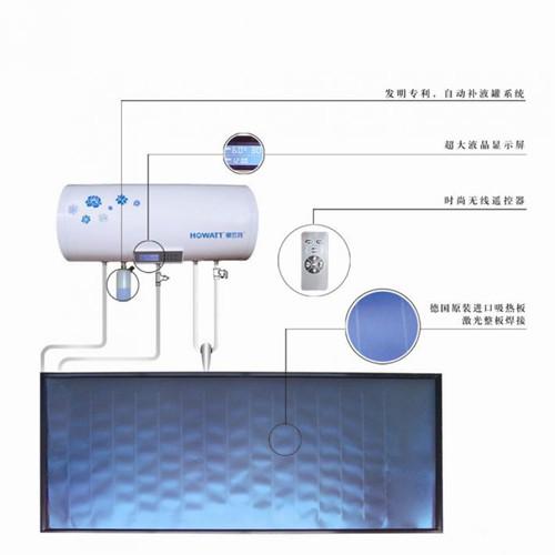 太阳能热水器水箱的安装及漏水原因