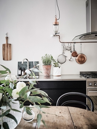 富有特色的北欧风格装修厨房设计