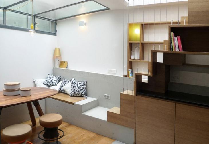 小户型loft风格装修餐厅效果图