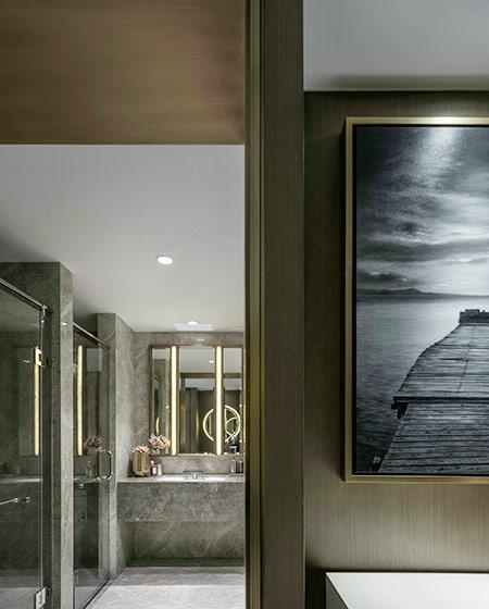简约风格公寓卫生间装潢图
