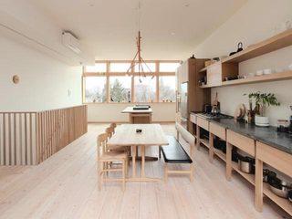 无印良品 原木日式餐厅平面图