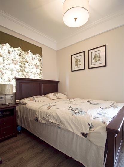 浪漫美式田园风卧室设计图