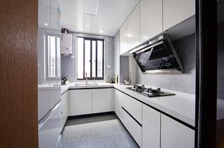 94平北欧三居室厨房装修图片