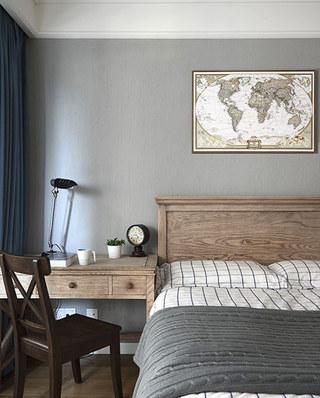129平美式风格公寓卧室装饰画