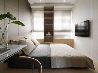 80㎡现代单身公寓卧室效果图